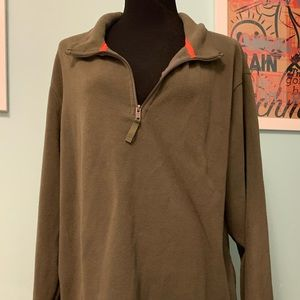 Goodfellow Dark Green Pullover Fleece XXL
